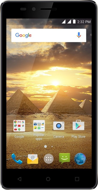 Karbonn Aura Power (Black-Champagne, 8 GB)(1 GB RAM)