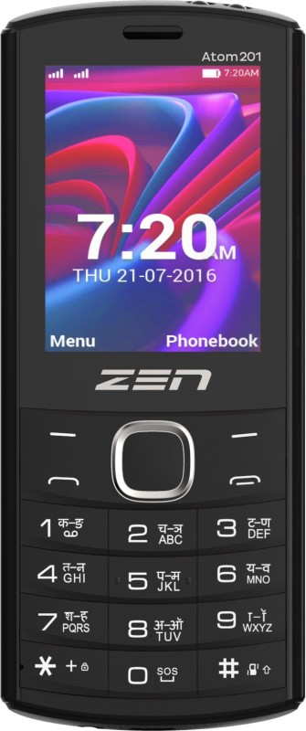 Zen Atom 201(Black & Red) image