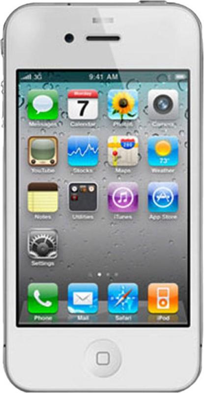 Apple IPhone 4 (White, 8 GB)