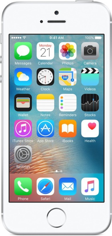 Apple iPhone SE (Silver, 16 GB)