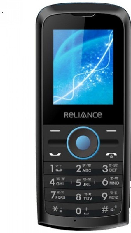 Reliance ALL CDMA SIM PHONE(Black)