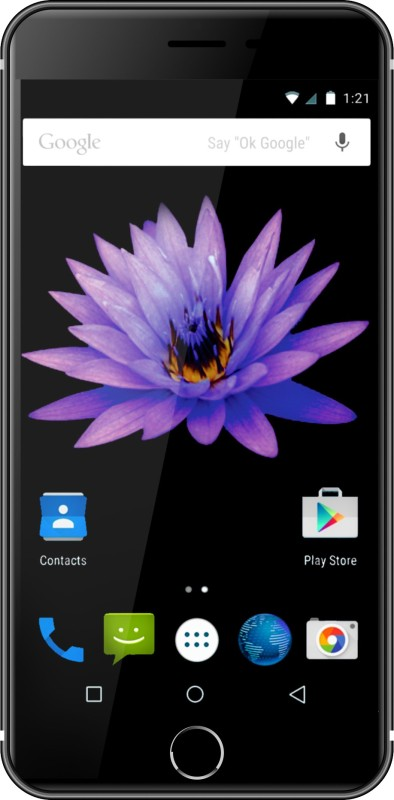 Swipe Konnect Star Plus (Black/Jet Black, 8 GB)(1 GB RAM)
