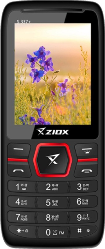 Ziox S 337+(Black & Red)