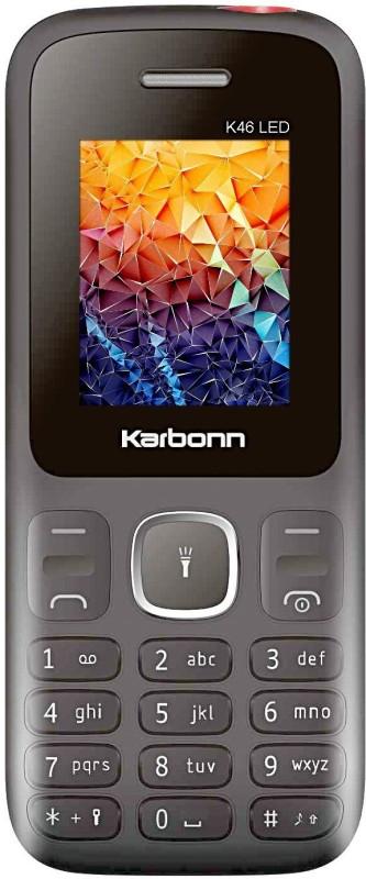 Karbonn K46 LED(Black & Red) image