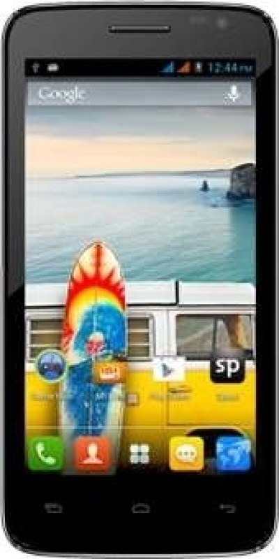 Micromax Canvas Juice (Black, 672 MB)(1 GB RAM)