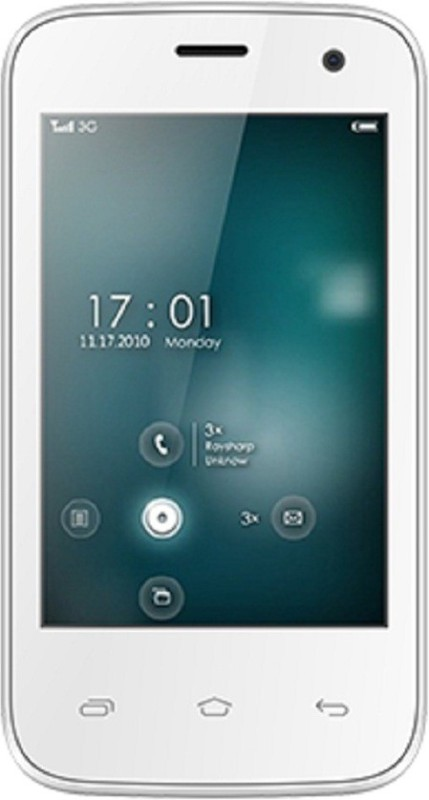 Videocon Z30 Aire (White, 512 MB)(256 MB RAM)