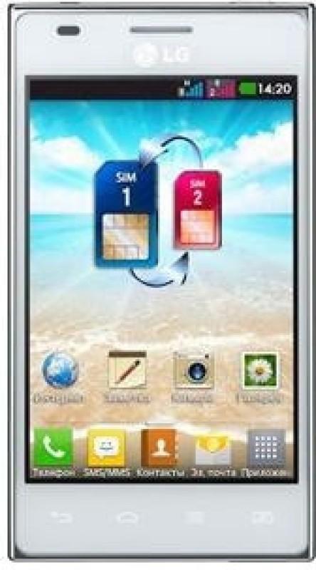 LG Optimus L5 Dual (White, 3 GB)(512 MB RAM) Optimus L5 Dual