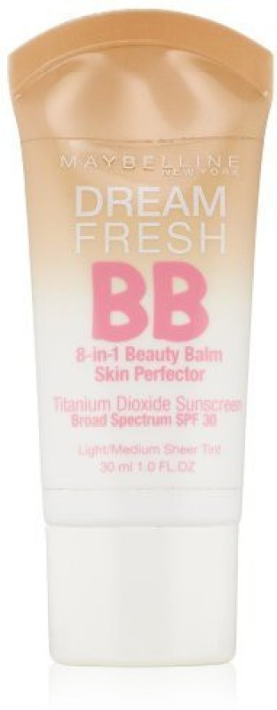 Maybelline Dream Fresh BB Cream, Light/Medium(N/A)