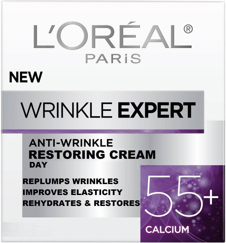 L'Oreal Paris Wrinkle Expert Restoring Day Cream 55+ Calcium(50 ml) Wrinkle Expert Restoring Day Cream 55+ Calcium