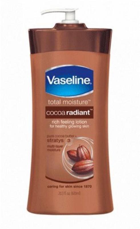 Vaseline Cocoa Radiant Body Lotion(600 ml)