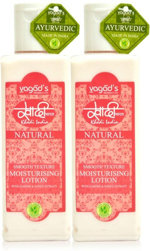 Vagads Khadi Smooth Texture Moisturising Lotion (100ml x 2 )(200 ml)