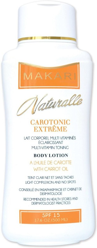 Makari De Suisse Naturalle Carotonic Extreme Lightening Multi-vitamin Toning Body Lotion Enriched With Carrot Oil(500 ml)