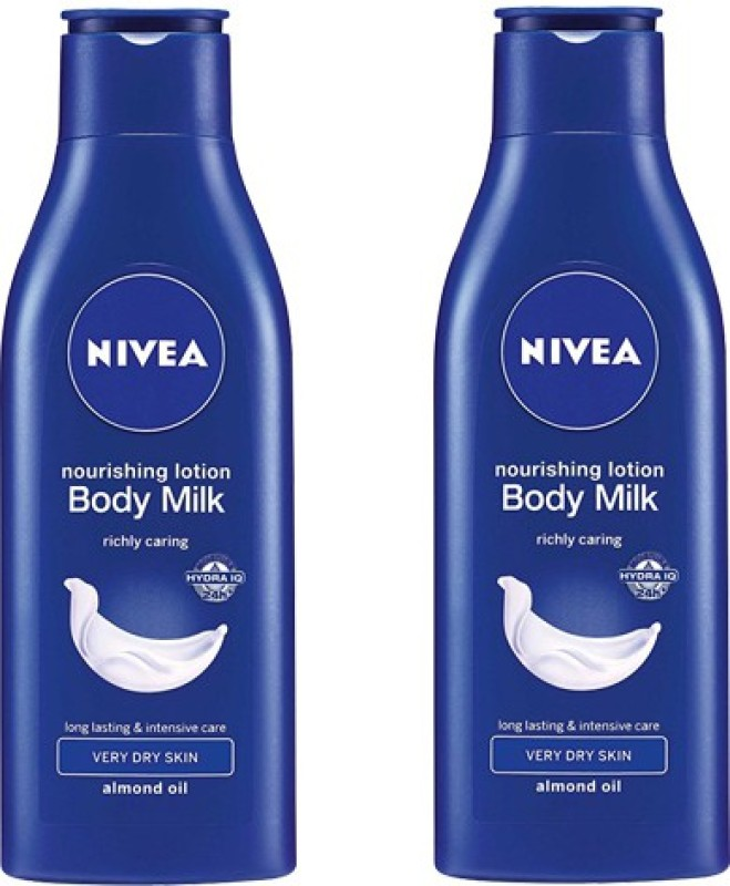 Nivea Nourishing Body Milk Pack of 2(75 ml)