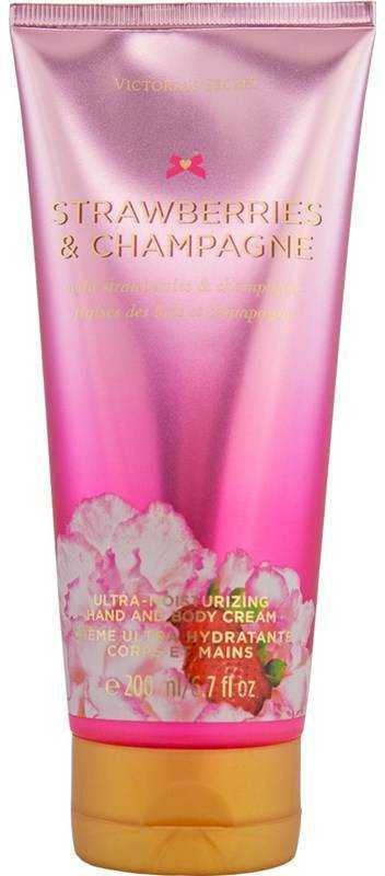Victorias Secret Strawberries and Champagne Ultra Moisturizing Hand and Body Cream(200 ml)