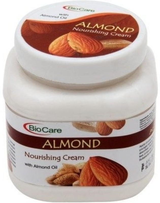 Biocare Face And Body Cream Almond(500 ml)