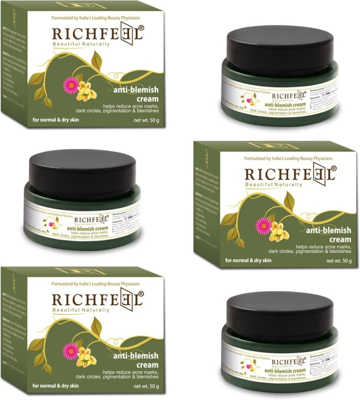 Richfeel Anti Blemish Cream 50g (Pack Of 3)(150 g)