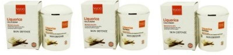 VLCC Natural Sciences Skin Defense Liquorice Cold Cream (Pack of 3)(150)