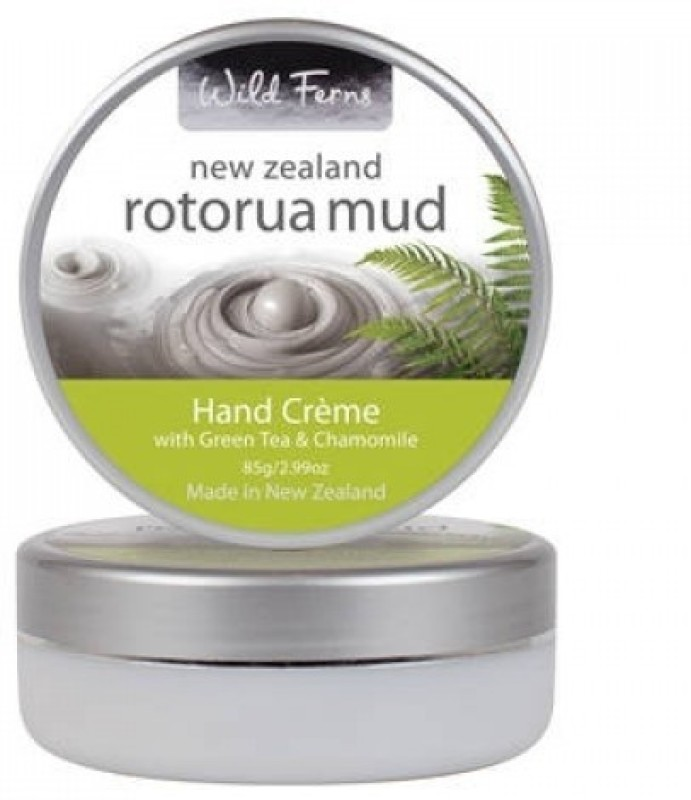 Wild Ferns Rotorua Mud Hand Cr?me with Green Tea and Chamomile(85 g)