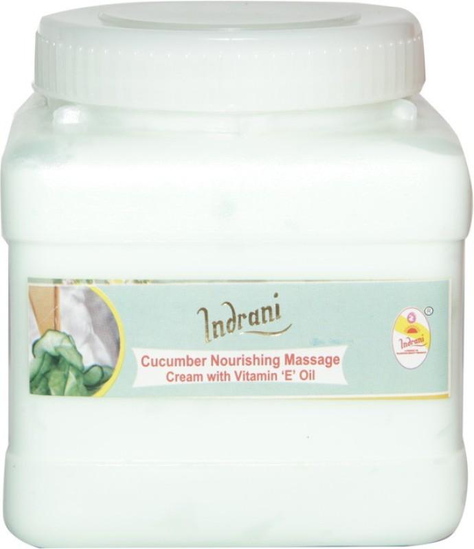 Indrani Cucumber Nourishing Massage Cream With Vitamin 'E' Oil 1(1 kg)