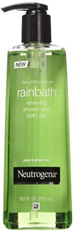 Neutrogena Shower and Bath Gel, Renewing, Pear & Green Tea, fz (Pack of 3)(255 ml)