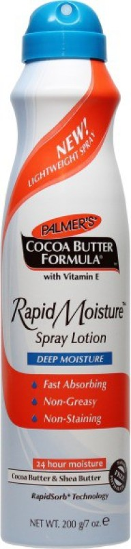 Palmers Cocoa Butter Spray Lotion Imported (Made In Usa)(200 g)