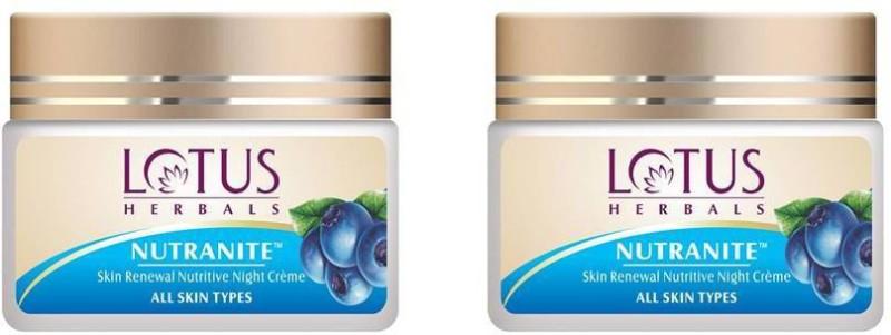 Lotus Nutranite Skin Renewal Nutritive Night Cream (50g) (50g) =(100 g)