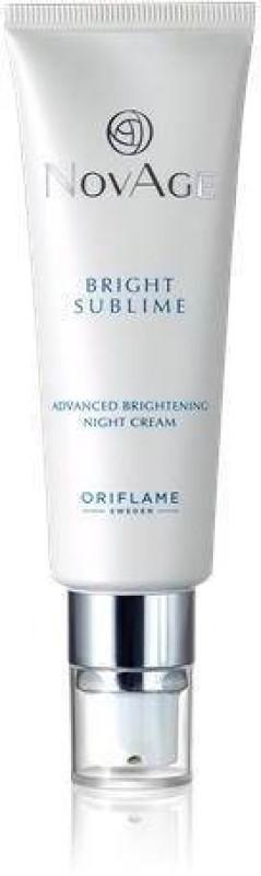 Oriflame Sweden NovAge Bright Sublime Advanced Brightening Night Cream(50 ml)