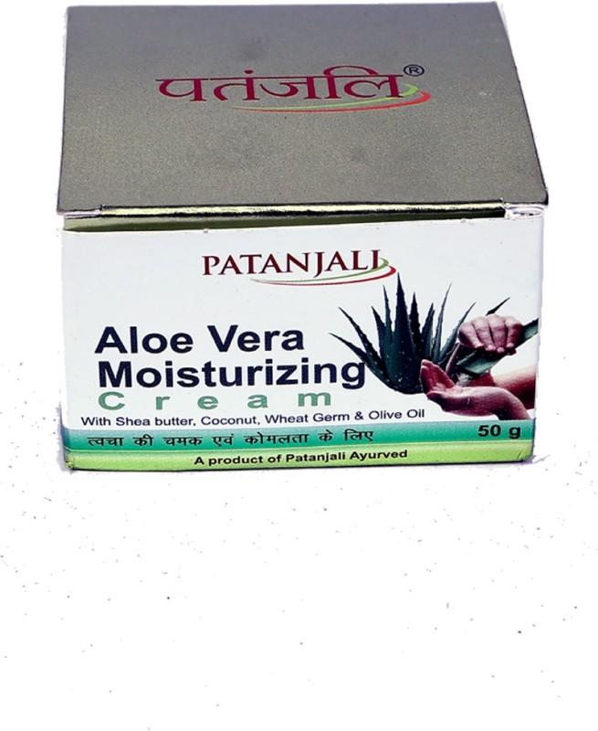 Patanjali Aloe Vera Moisturizing Cream(50 g)