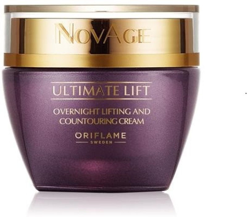Oriflame Sweden NovAge Ultimate Lift Overnight Lifting & Contouring Cream(50 ml)