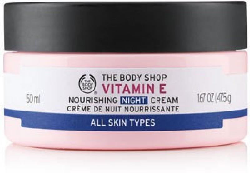 The Body Shop Vitamin E Nourishing Night Cream(50 ml)