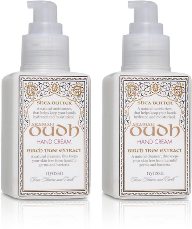 Nyassa Arabian Oudh Hand Cream Pack Of 2(290 ml)