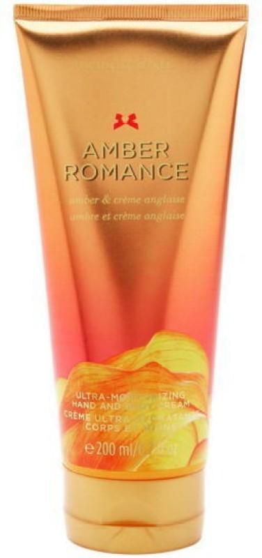Victorias Secret Amber Romance Ultra Moisturizing Hand and Body Cream(200 ml)