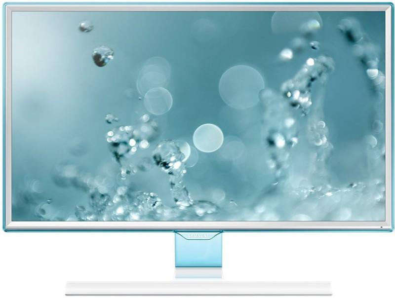 Samsung 23.54 inch Full HD LED Backlit - LS24E360HL/XL Monitor(White...