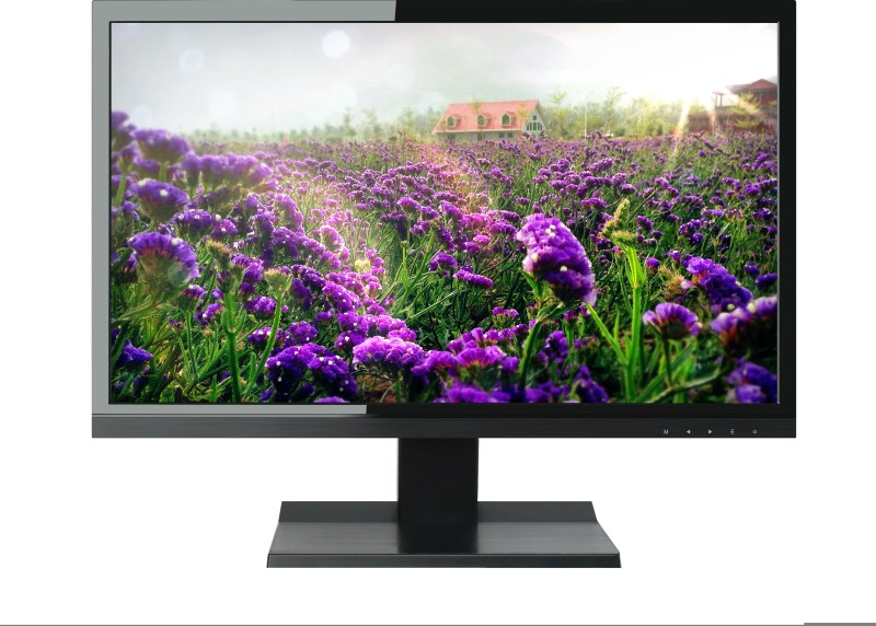 Micromax 18.5 inch HD LED Backlit LCD - MM185H65 Monitor(Black)
