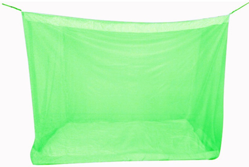 Mosnet Nylon Adults 5.5x6.5 feet Polynet Hanging Mosquito Net(Green)