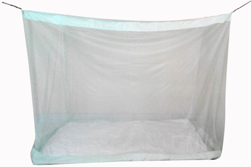 Elegant Polynet Mosquito Net provides total insect protection. This design really is the best available. It is an easy care, machine washable and 100% natural Polynet. Infants 5x6.5 Feet Polynet Mid Size Bed Mosquito Net(Green)