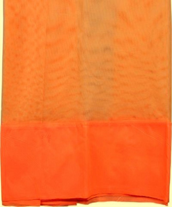 Purabi Nylon Adults Double Bed Mosquito Net(Orange)