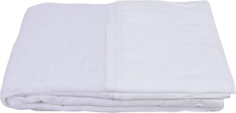Fashion Centre Cotton Infants Double Bed Mosquito Net(White)