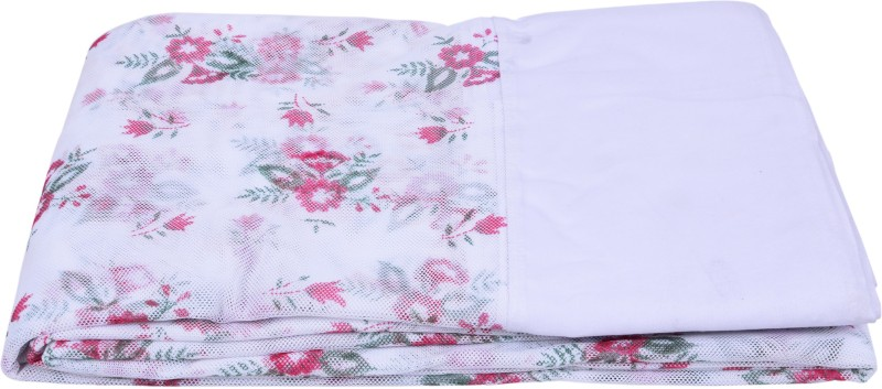 Fashion Centre Printed polyester Infants Double Bed Mosquito Net(White)