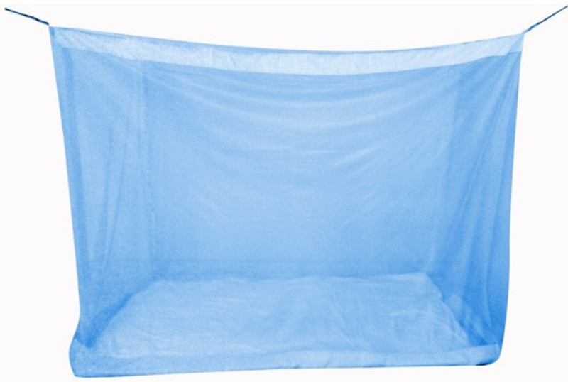 Mosnet Polyester Adults 5.5x6.5 feet Polyester Hanging Mosquito Net(Blue)