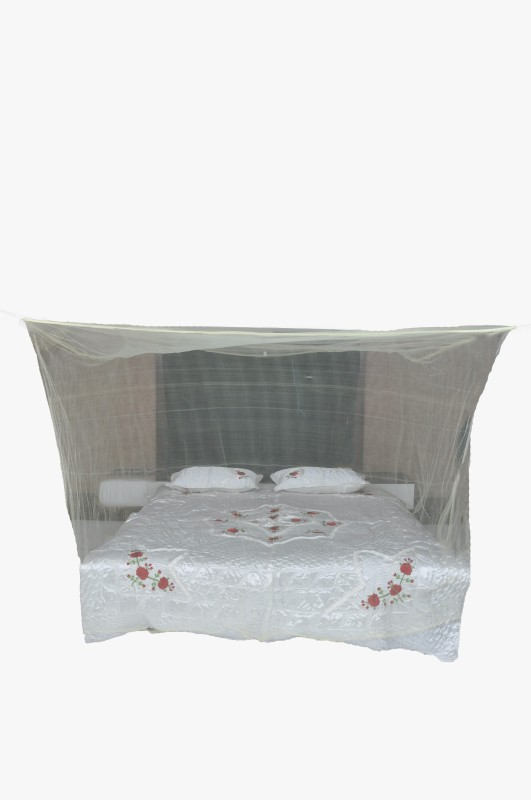 Riddhi Nylon Adults square cream 50 mtr sailam (7x7) mosquito net Mosquito Net(Cream)
