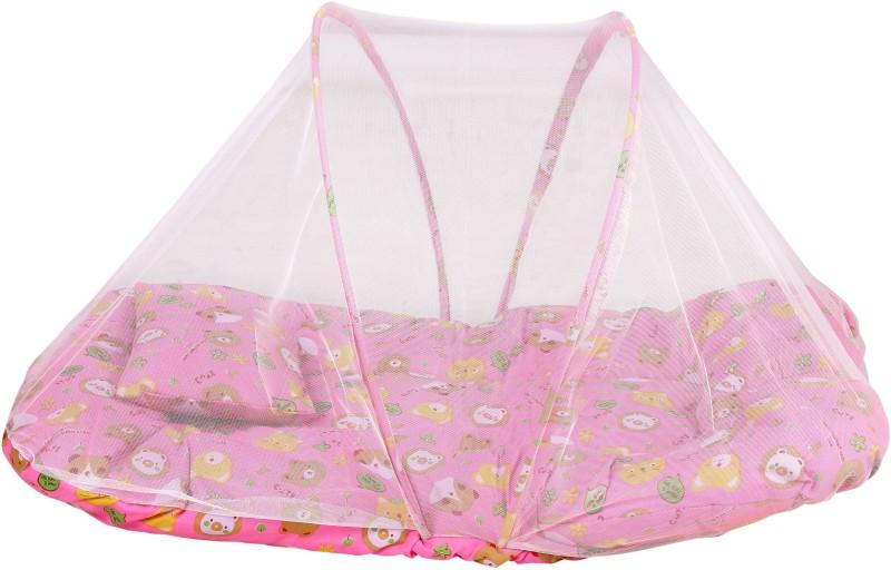 BSB Trendz Cottan Kids Baby Mosquito Net(Pink) Baby