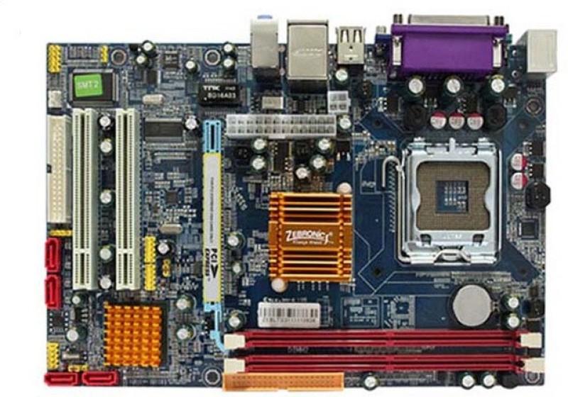 Zebronics ZEB-G31 Motherboard(Blue)