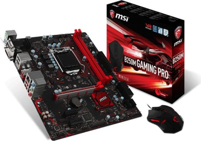 MSI B250M GAMING PRO Motherboard(Black) image