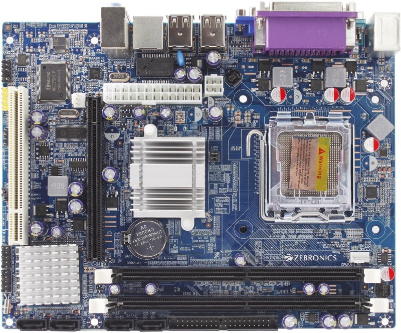 Zebronics ZEB-Z31 Motherboard(BLUE)