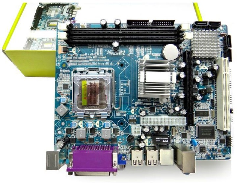 Zebronics ZEB945 Motherboard(Blue) image