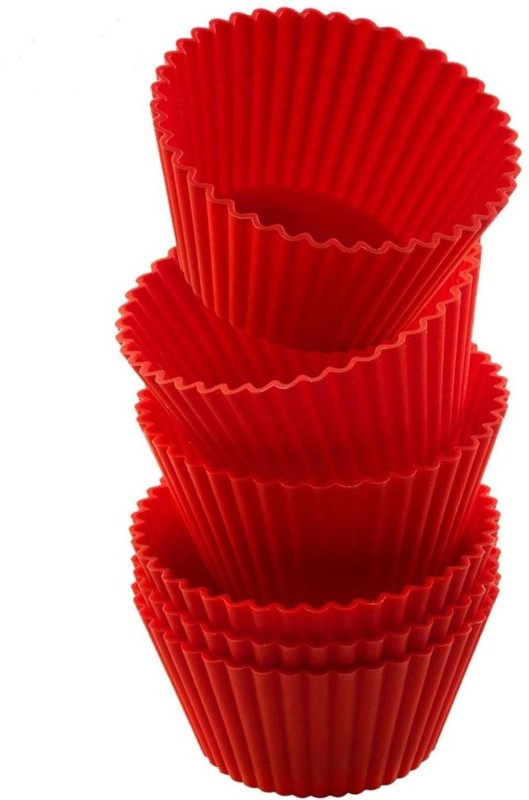 SMC 6 - Cup Cupcake/Muffin Mould(Pack of 6)