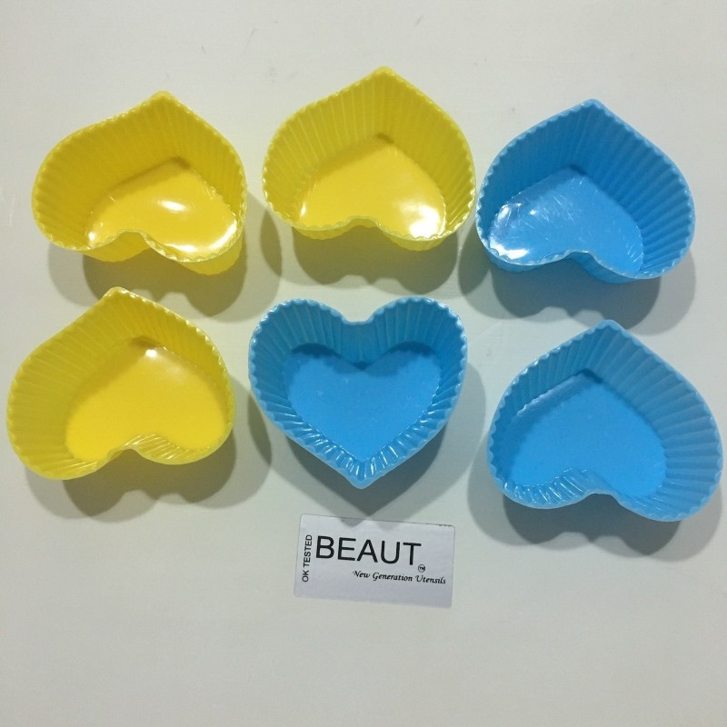 Beaut 6 - Cup Cupcake/Muffin Mould(Pack of 6)