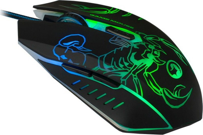 Marvo M316 Scorpion Wired Gaming Mouse(Black)
