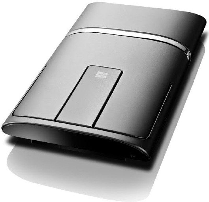 Lenovo Dual Mode Wireless Touch N700 (BLK) Wireless Laser Mouse(USB 2.0, Black)